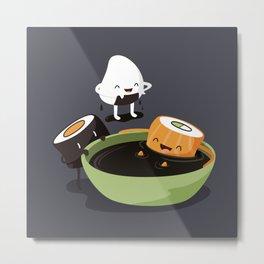 Sushi Bath Metal Print