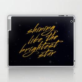 Shining Like The Brightest Star Laptop & iPad Skin