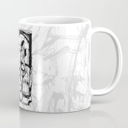 Drained - b&w Coffee Mug