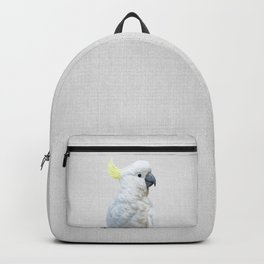 White Cockatoo - Colorful Backpack