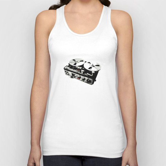 the ultimate tape recorder Unisex Tank Top