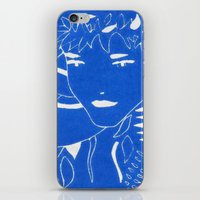 fern iPhone & iPod Skins featuring FERN by Andrea Jean Clausen - andreajeanco