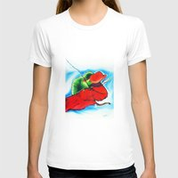chameleon T-shirts featuring Chameleon by TheMartianPotato