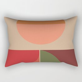 Season #fallwinter #colortrend #decor Rectangular Pillow