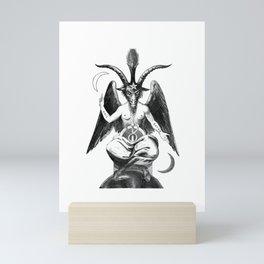 Baphomet Goat Church of Satan Mini Art Print
