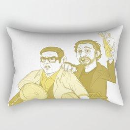the world's end Rectangular Pillow