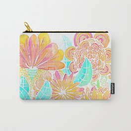 FLORES ALEGRES Carry-All Pouch
