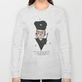 Vegetarian Polis Officer  Long Sleeve T-shirt