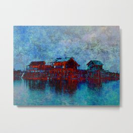 Night in Sebangau Metal Print