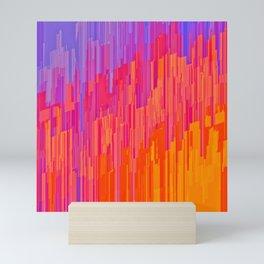 Scorched High-Rise Mini Art Print