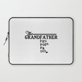 The Grandfather Laptop Sleeve