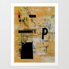 misprint 55 Art Print