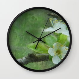 Spring Promise Wall Clock