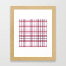 Hong Kong Red-white-blue bag Framed Art Print