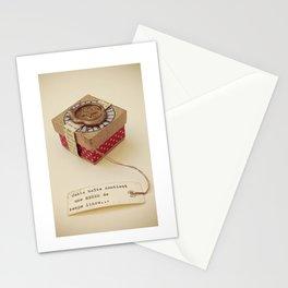 Boîte contenant Une heure de temps libre Stationery Cards
