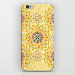 Sunshine Mandala iPhone Skin