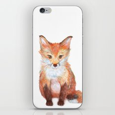 Little Fox iPhone & iPod Skin