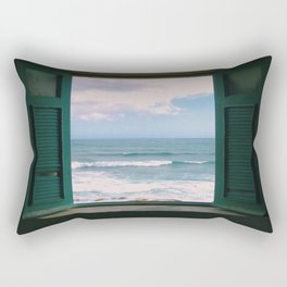 Atlantic Morning Rectangular Pillow