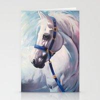 horse Stationery Cards featuring Horse by Slaveika Aladjova