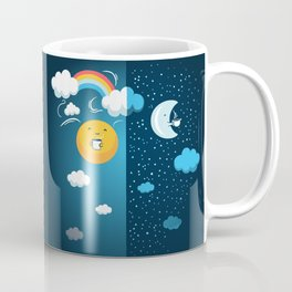 Night and Day Coffee Mug