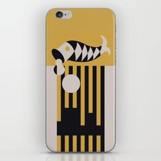 Art Deco Bird & Fish - Hemingway iPhone Skin