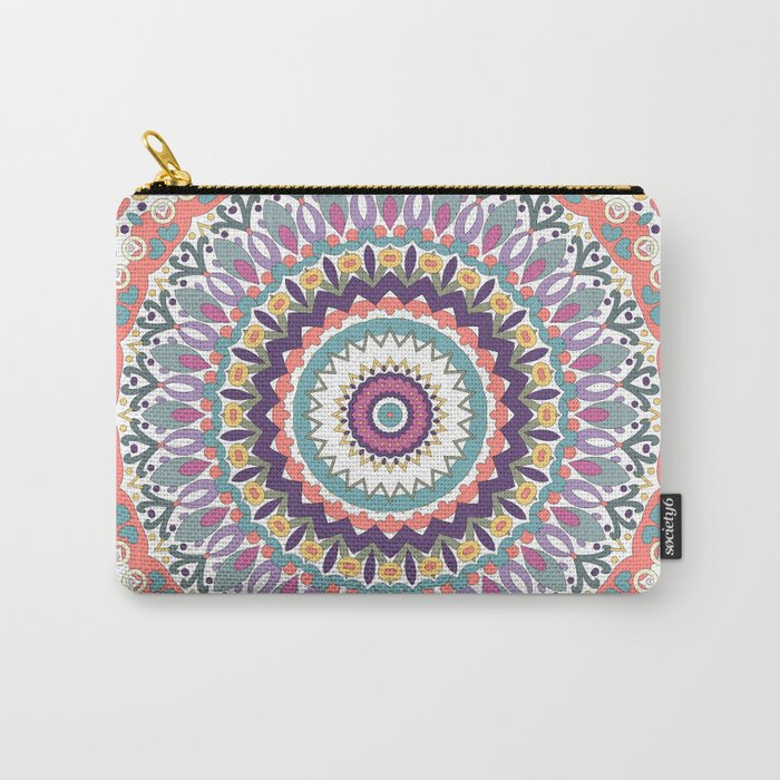 Bloom Mandala Carry-All Pouch