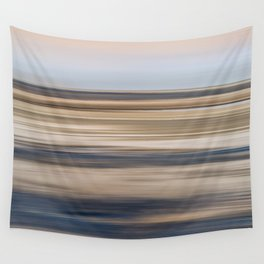 Abstract Shore Line Wall Tapestry