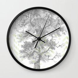 Solitary Tree  Wall Clock