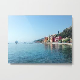 Morning in Villefranche-sur-Mer Metal Print