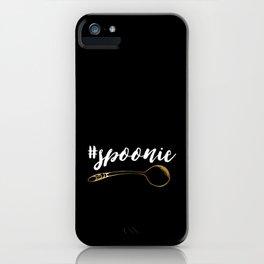#spoonie iPhone Case
