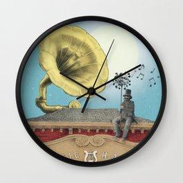 The Music Hall Wall Clock