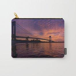 Verrazzano Bridge at Sunrise Carry-All Pouch