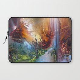 Fantasy Painting Landscape Mystical Laptop Sleeve