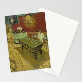 """Vincent van Gogh """"Le café de nuit (The Night Café)"""" Stationery Cards"""