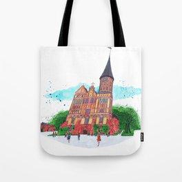 Konigsberg Cathedral, Kaliningrad Tote Bag