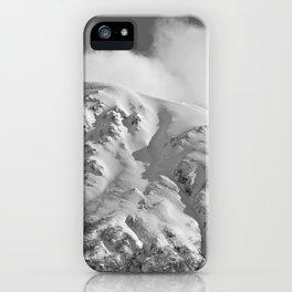 Snowy Alaskan Mountain - 2 iPhone Case