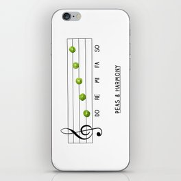 Peas & Harmony iPhone Skin