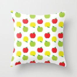 Apple Delight Throw Pillow