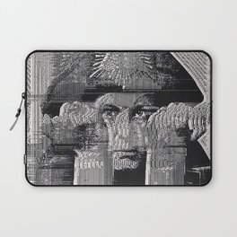Glitch Mr. Crowley, what went on in your head Laptop Sleeve