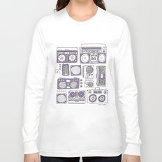 Boom Boxes Long Sleeve T-shirt