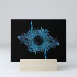 Blue eye - fractal Mini Art Print