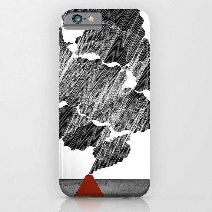 Little Red Volcano iPhone Case