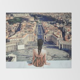 Santa Sede Throw Blanket