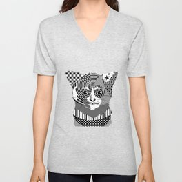 Spectrum Cat Unisex V-Neck