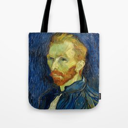 Vincent Van Gogh Self Portrait With Palette Tote Bag