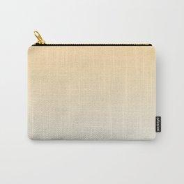 CREAM DREAM - Minimal Plain Soft Mood Color Blend Prints Carry-All Pouch