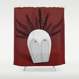 Headspace Shower Curtain