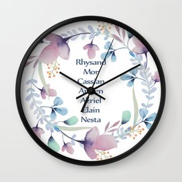 The High Lady's Litany Wall Clock