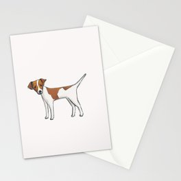 Russ the dog Stationery Cards