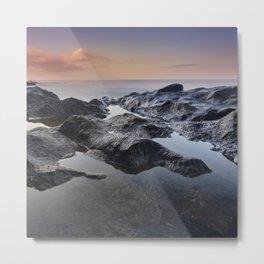 At Sunrise. Del Medio Beach. Canary islands Metal Print